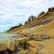 Lake Erie Shoreline Poster