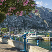 Lake Garda Harbour Of Limone Sul Garda Poster
