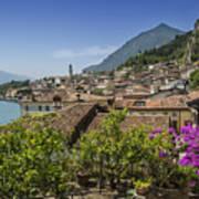 Lake Garda Limone Sul Garda Poster