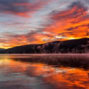 Lake George Sunrise Poster