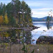 Lake Gustav Adolf Sweden Poster