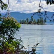Lake Islet Poster
