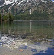 Lake Jenny Grand Tetons Poster
