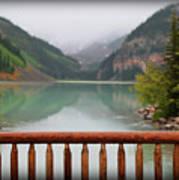 Lake Louise At Dawn Poster