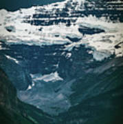 Lake Louise At Distance Poster