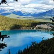Lake Louise Chalet Poster