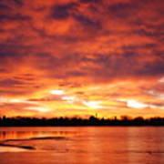 Lake Loveland Sunrise Poster
