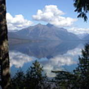 Lake Mcdonald Glacier National Park Poster