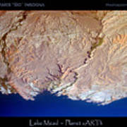 Lake Mead - Planet Art Poster
