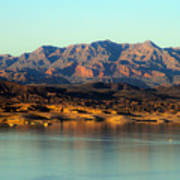 Lake Mead Before Sunset Poster