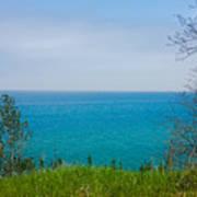 Lake Michigan In May Poster