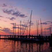 Lake Norman Sunset Poster