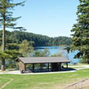 Lake Padden Picnic Shelter Poster