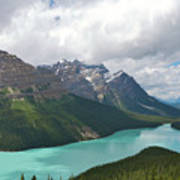 Lake Peyto - Banff National Park Poster