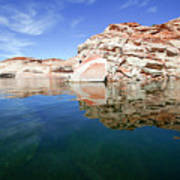 Lake Powell And The Glen Canyon Poster
