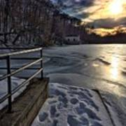 Lake Roland Sunset Poster