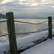 Lake Snow Poster