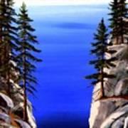 Lake Tahoe Framed Poster