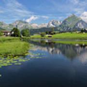 Lake Vorderer Schwendisee Poster