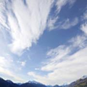 Lake Wakatipu Sky Poster by Barry Culling