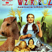 Lakeland Terrier Art Canvas Print - The Wizard Of Oz Movie Poster Poster
