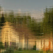 Lakeside Living On Wiggins Lake - Abstract Poster