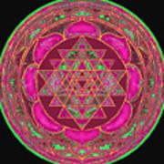 Lakshmi Yantra Mandala Poster by Svahha Devi