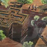 Lalibela Church Poster