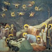 Lamentation Of Christ Poster