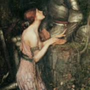 Lamia Poster by John William Waterhouse