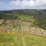 Lanai City Aerial Poster