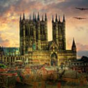 Lancaster Bombers Tour Poster