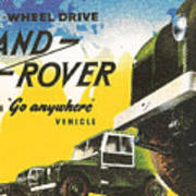 Land Rover Poster
