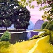 Landscape  Poster by Carola Ann-Margret Forsberg