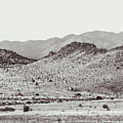 Landscape Galisteo Nm J10c Poster