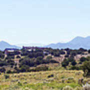 Landscape Galisteo Nm K10h Poster