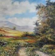 Landscape In Dilijan Poster by Tigran Ghulyan
