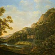 Landscape Painter Poster