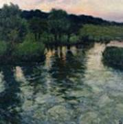 Landscape With A River Poster