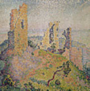 Landscape With A Ruined Castle  Poster
