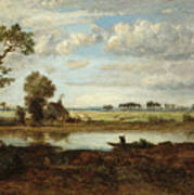 Landscape With Boatman Poster