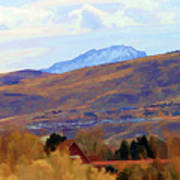 Landscape Wyoming State  Poster