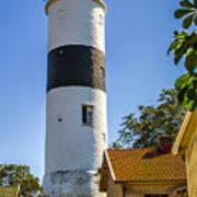 Lange Jan Lighthouse Poster
