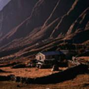 Langtang Village Poster