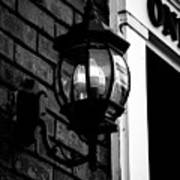 Lantern Black And White Poster