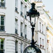 Lantern Clock Poster