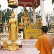 Laos, Vientiane Poster