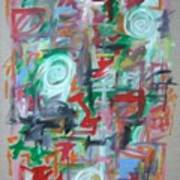 Large Abstract No 2 Poster