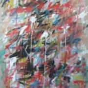 Large Abstract No 4 Poster