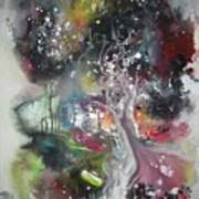 Large Color Fever Abstract25-original Abstract Painting Poster